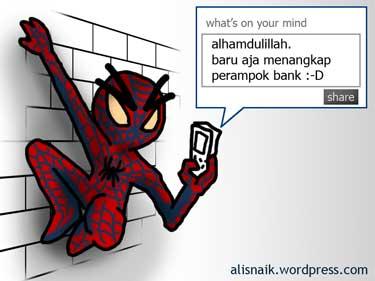 status FB para superhero